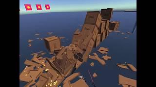 Destructible Boxes in VRIF
