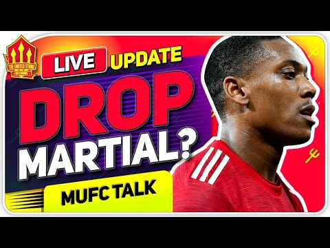 IS IT TIME TO DROP MARTIAL? Upamecano Transfer BATTLE! | Man United News Now