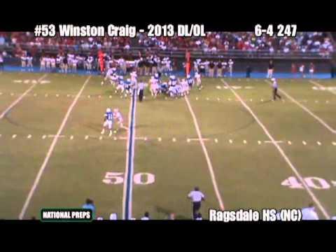 Winston Craig Junior Highlights