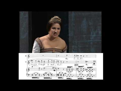 Netebko y Garanča: «Dio che mi vedi in core», Anna Bolena, de Donizetti.