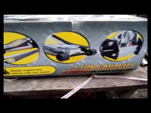 Review Black Jack 3 Ton Low Profile Professional Car Jack Truck SUV from Walmart