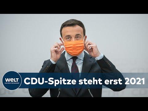 MERZ EMPÖRT: CDU-Spitze verschiebt Entscheidung über Parteivorsitz ins neue Jahr