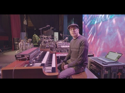 Andy Burton - A Tour of His 2019 Little Steven Keyboard Rig