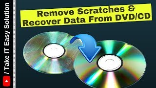 Remove Scratches & Recover Data From CD/DVD (Hindi)