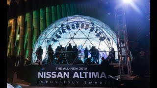 The All-New 2019 Nissan Altima #ImpossiblySmart Snow Globe