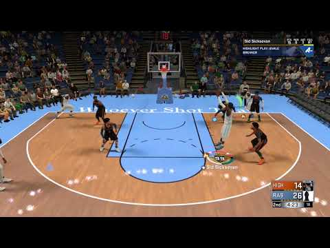 99 overall 6'10 Pure Point Forward Sid Sicksevan- I AM THE LEGEND R'AS AL GHUL