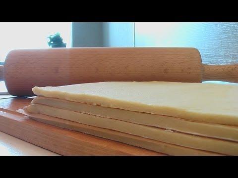 Слоеное тесто видео рецепт. Книга о вкусной и здоровой пище