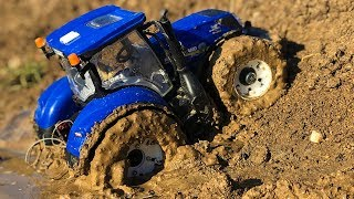 Bruder Tractor Amazing MUD ride!