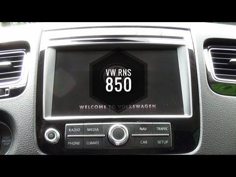 vw rns 850 navigations und infotainment system im test. Black Bedroom Furniture Sets. Home Design Ideas