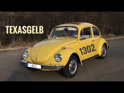 Beetle / Käfer 1302 Standart Model 1972 in texasgelb