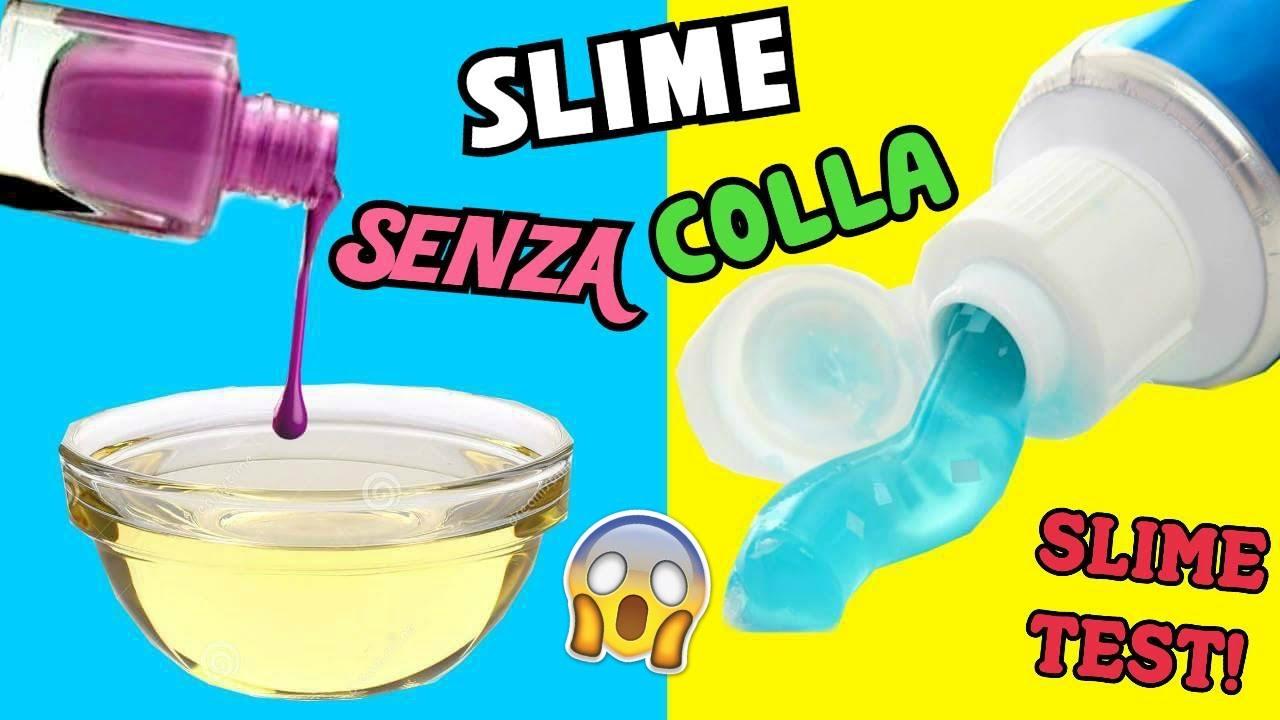 5 slime senza colla ricette suggerite da voi slime test. Black Bedroom Furniture Sets. Home Design Ideas
