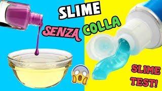 5 SLIME SENZA COLLA (RICETTE SUGGERITE DA VOI) SLIME TEST! Iolanda Sweets