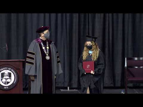 2021 IUP Graduate Commencement Ceremony