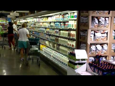 Brother Steve gives us a tour of Whole Foods! Wow what a Store!