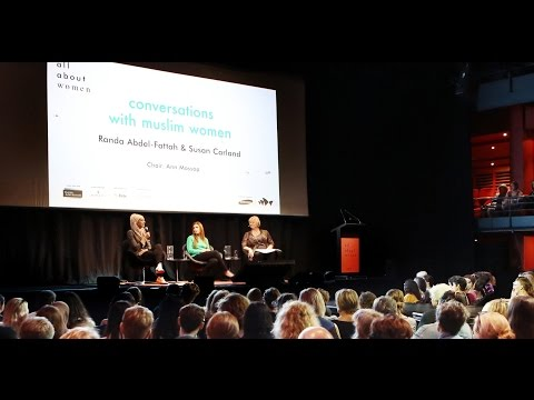 Conversations with  Muslim Women Panel, All About Women 2015