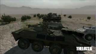 ArmA 2: BTR 40, 60, 70 and 90 APCs