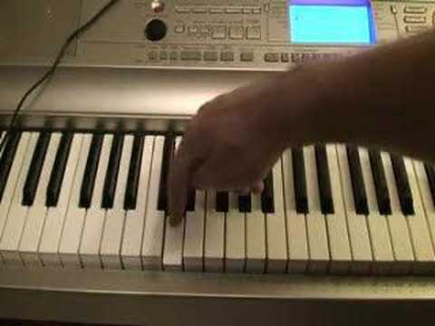 Journey - Open Arms Tutorial for Piano