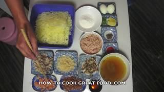 Paano magluto Pancit Palabok Recipe - Tagalog Pinoy Filipino Noodles