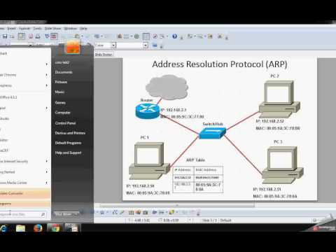 Address resolution protocol (ARP) explained