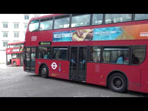 Observations At Hammersmith Bus Station Sunday, July 3, 2016