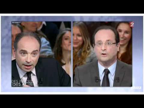 Les temps forts du duel Hollande - Copé en moins de 3 minutes