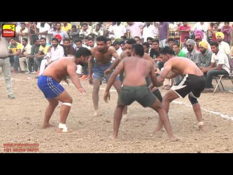 DHIANPUR (Ropar) !! KABADDI CUP - 2015 !! SEMI FINALS !! Full HD !!