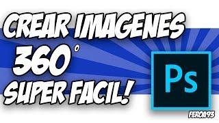 كما يمكنك إنشاء أو تحرير الصور في 360° في برنامج فوتوشوب.