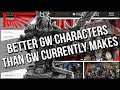 Better Games Workshop Characters From Non Games Workshop Companies?