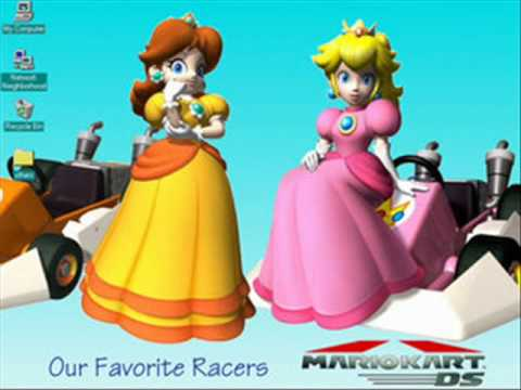 animated super mario bros princess daisy wario votabo