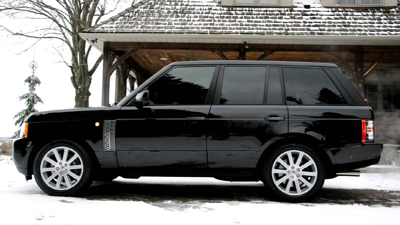 2011 Range Rover Supercharged Air Suspension Rising And Lowering Youtube