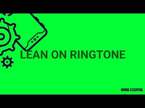 Lean On Ringtone (marimba Remix)