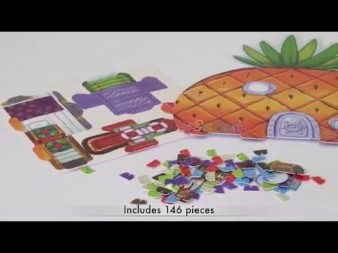ALEX Toys Shrinky Dinks Spongebob Pineapple House Playset
