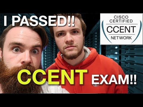 I PASSED THE CCENT EXAM!! - ICND1 Exam Tips