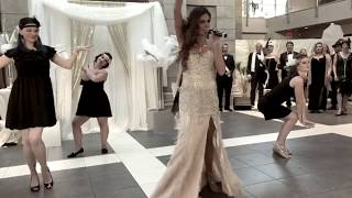 """All That Jazz"" ~ Best Wedding Flashmob Ever ~ Nikita Graham"
