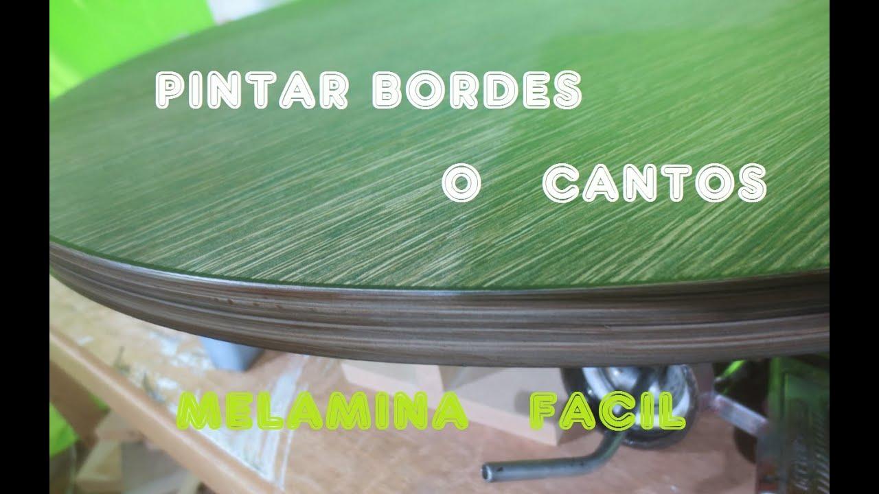 Como pintar cantos de melamina facil paso a paso luis for Pintar un mueble de blanco sin lijar