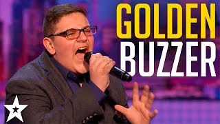 Christian Guardino gets GOLDEN BUZZER On America's Got Talent 2017