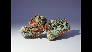 Native Copper Mineral Specimen from Keweenaw Co., Michigan, USA