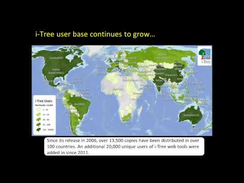 Air Pollution Removal by Green Infrastructure and i-Tree Software
