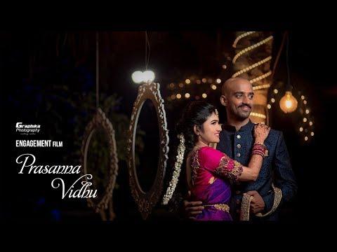 Pretty Bride Engagement Film | Prasanna♥Vidhu | Coimbatore | Graphika Photography