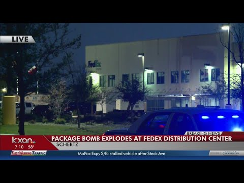 Security expert analyzes FedEx facility package explosion