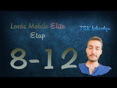 Lords Mobile Elite Etap 8-12