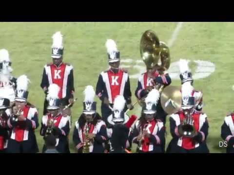 Kentwood Kangaroos Band - Halftime Show - October 14, 2016