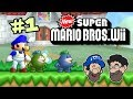 FISHY BOOPKINS and SMG4 in NSMBW! || PART 1 || New Super Mario Bros Wii