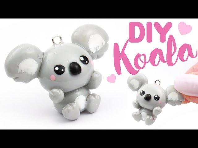 DIY CUTE KOALA in CLAY!  | KAWAII FRIDAY