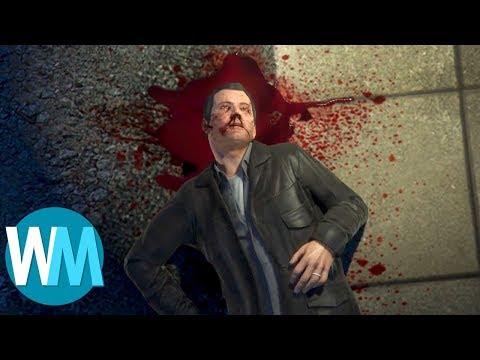 Top 10 des MÉCHANTS de jeux vidéo qu'on est contents de voir mourir !