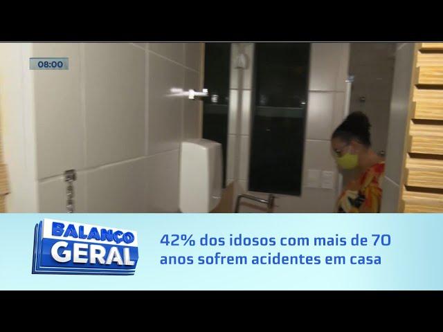 Dicas do Bombeiro: 42% dos idosos sofrem acidentes em casa e quase sempre no banheiro