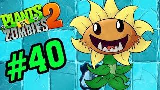 Plants Vs Zombies 2 Tập 40 - Primal Sunflower Hoa Mặt Trời Cổ Đại - Hoa Quả Nổi Giận 2 Android, Ios