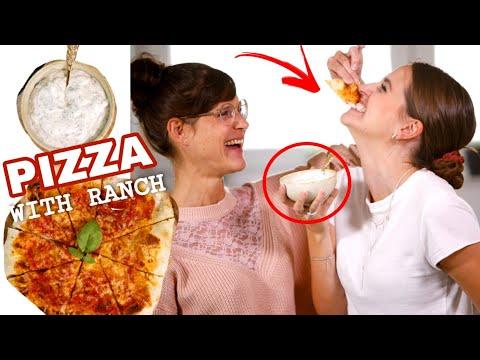 Pizza mit Ranch