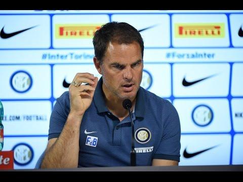 Live! Conferenza stampa Frank de Boer Sampdoria-Inter 29.10.2016 13:30CEST