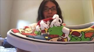 Nintendo x Vans Mario & Friends Shoes Unboxing- Journeys exclusives